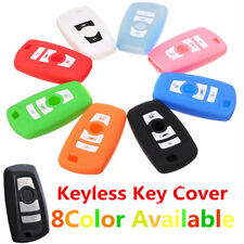 3 Button Silicone Fob Remote Key Case Cover For BMW 1 2 3 5 7 Series F10 F20 F30