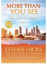 More Than You See, Teachings of Abraham, Esther Hicks, 2-DVD set