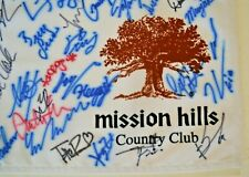 2014 Dinah Shore Nabisco Golf Tournament, Mission Hills  Autographed by Players