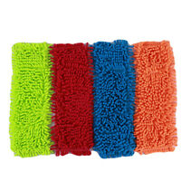Mops Floor Cloth Mop Head Home Dust Refill Microfiber Multicolor Replacement D