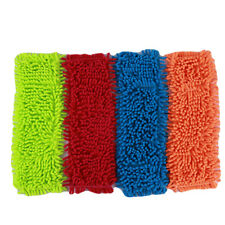 Household Flat Spray Cloth Dust Non-Toxic Chenille Material Mop Pads MP