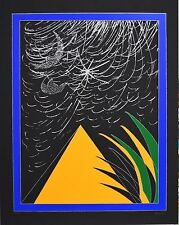 "ANGELI  FRANCO  - "" Piramide "" - serigrafia"