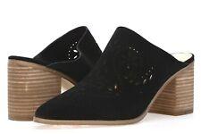 IVANKA TRUMP Womens Dorth Black Perforated Leather Mules Pumps Classic Size 9 M