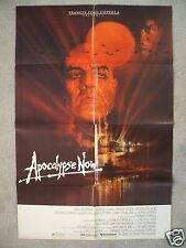 APOCALYPSE NOW * 1979 ORIGINAL MOVIE POSTER 1SH MARLON BRANDO MARTIN SHEEN NM-M!