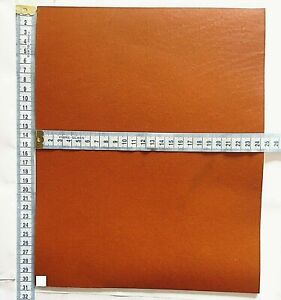 SADDLE TAN VEG TAN CRAFT LEATHER 2MM THICK  TOOLING LEATHER HIDE SMALL OFFCUTS