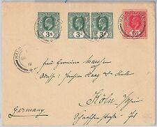51806 - CEYLON - POSTAL HISTORY - POSTAL STATIONERY COVER from HALDUMMULLA 1912