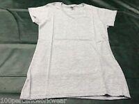 Size MEDIUM Gildan GD78 SPORT GREY Short Sleeve Ladies Womens Tee T Shirt New