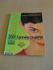 STUDIO Hors Série N°11 Décembre 2001 Audrey Tautou Amélie Poulain Jeunet