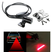 New Car Red Laser Fog Rear Anti-Collision Safety Warning Tail Light Lamp 12-24V