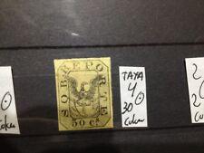 SELLOS DE COLOMBIA . USADOS. YVERT Nº 4.  TAXA