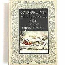 Currier and Ives Printmakers To The American People 1942 Harry Peters 192 Plates