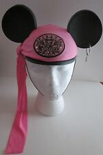 YOUTH Disney PIRATE PRINCESS Mickey MOUSE EARS CAP Hat GIRLS KIDS Hoop Earring