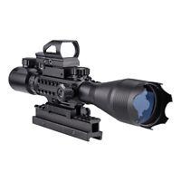 Rifle Scope Combo 4-16x50EG Illuminated Optics Sight & JG13/G Green Laser est