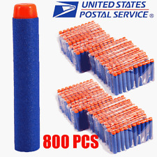 800PCS Refill Bullet Darts for Nerf N-strike Elite Series Blasters Kids Toy