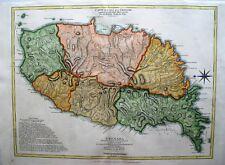 Antique Map of Grenada: West Indies: R. Sayer & Thomas Jefferys: London, 1775