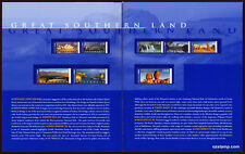 2000 Great Southern Land International Post Office Pack Australia Mint Stamps