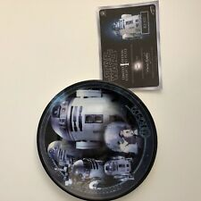 Star Wars Limited Edition Collector's Plate RD-D2 #665 Of 3000 Very RARE