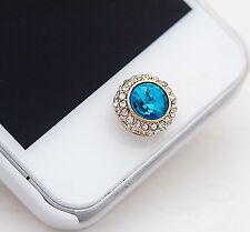 Home Button Sticker For iPhone 7Plus 7 SE 6SPlus 6S 6Plus 6 5C 5S 5 Blue Stone