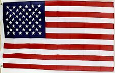 U.S. American Us Usa Flag - 2 1/2 'x 4' (Made in the Usa) Poly / Cotton Blend