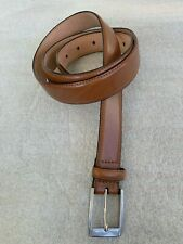 Mens Brown Leather Belt From MOSS 1851 - Size 40