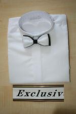 Hemd in weiß Langärmig mit Fliege Jungenhemd  ca 5- 6 Jahre