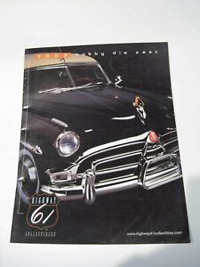 Catálogo Catalogue HIGHWAY 61 Reference Guide Collectors diecast cochesaescala