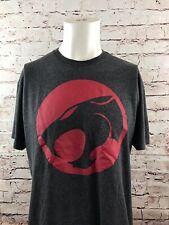 Thundercats Gray Logo T-Shirt Size Large