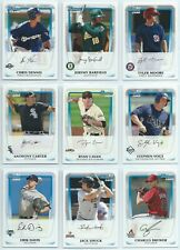 2011 Bowman Prospects Paper You Pick the Player / Card Finish Your Set 1-110