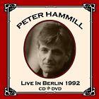 Peter Hammill Live In Berlin 1992 2-CD+DVD NEW SEALED Van Der Graaf Generator