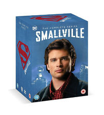 SMALLVILLE Complete Collection Series 1-10 DVD Season 1 2 3 4 5 6 7 8 9 10 UK Re