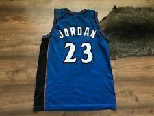 NBA WASHINGTON WIZARDS BASKETBALL SHIRT JERSEY CHAMPION #23 MICHAEL JORDAN