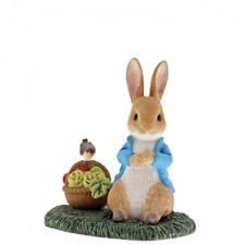 Beatrix Potter Peter Rabbit with Basket A29192 Figure Figurine New & Boxed