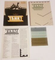 Strategy & Tactics S&T 44 Tank! 20th Century Armored Combat Board Game Unpunched
