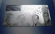 1000 Euro - 999 Silber Applikation Silver Argento #5103