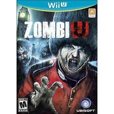 ZombiU [Nintendo Wii U, NTSC, Zombie Survival Horror FPS Action] NEW