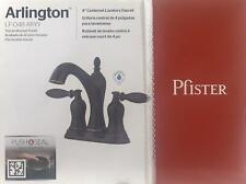 Price Pfister Arlington Bathroom Sink Faucet Tuscan Bronze Lavatory Oil Rubbed