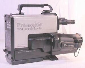 Vintage Panasonic OmniMovie VHS PV-200D Video Recorder Charger Hard Case