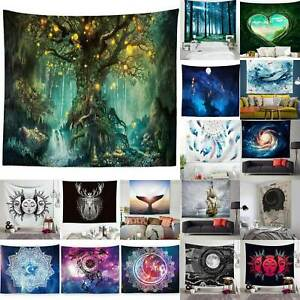 Animal Printed Dreamy Nature Home Wall Hanging Tapestry Living Room Art Decor