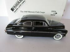 DANBURY MINT 1949 Mercury Club Coupe Black 1:24 DIE CAST