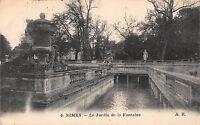 BF6441 nimes le jardin de la fontaine france      France
