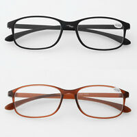 Flexible Reading Glasses TR90 Readers Spectacles +1.0 +1.5 2.0 2.5 3.0 3.5 4.0