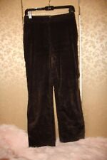 Max Mara Expresso Brown Fall Winter Wide Wale Corduroy Pants 4