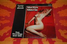 ♫♫♫ Marily Monroe - Rare Recordings 1948-1962, Sandy Hook S.H. 2013, insert ♫♫♫
