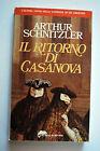 Il ritorno di Casanova - Arthur Schnitzler - Tascabili Bompiani 3415