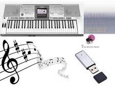 Archivo MIDI Karaoke memoria USB para psr 3000 Vol 3 Nuevo