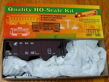 Roundhouse Ho #1445 (Rd #876361) Conrail 34' 2-Bay Covered Hopper Kit