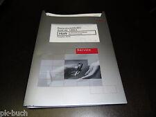 Werkstatthandbuch Audi A6 C5 Kraftstoffversorgung Benzinmotor Benzinmotoren 1999