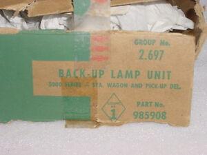 NOS 1964 Chevelle El Camino & Wagon Backup Lamp Kit #985908 Group 2.697