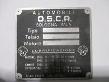 Osca Fiat 1500 1600 Scudo Piastra s56