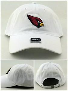 Arizona AZ Cardinals New Women Ladies Reebok White Red Clean Up Era Hat Cap